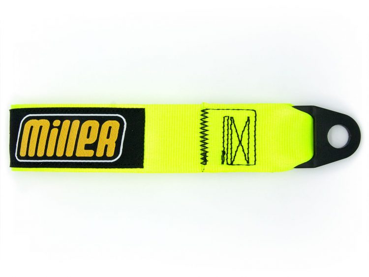 Tirador coche amarillo Racing Miller